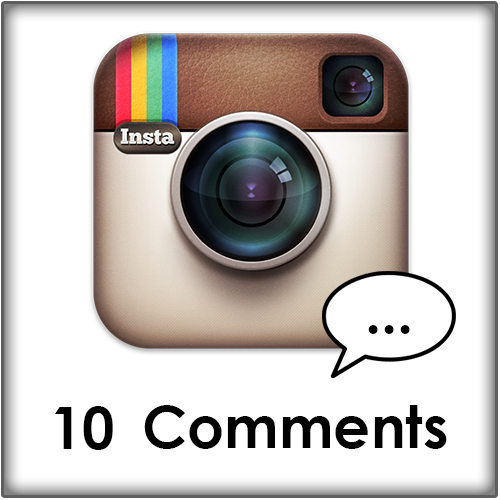 10 Instagram comments kopen