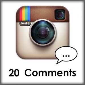 20 Instagram comments kopen