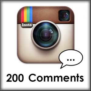 200 Instagram comments kopen