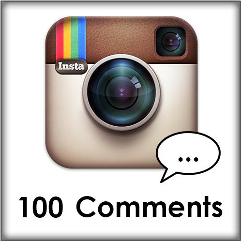 100 Instagram comments kopen