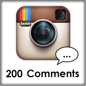 200 Instagram comments kopen