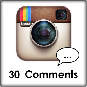 30 Instagram comments kopen