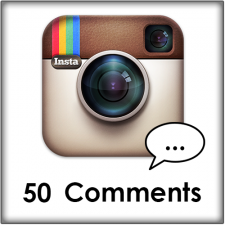 50 Instagram comments kopen